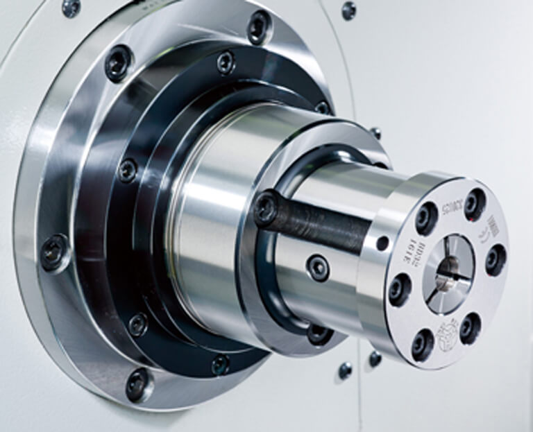 Spindle of MYLAS MY-TURN T25/T36 Small Type CNC Lathe